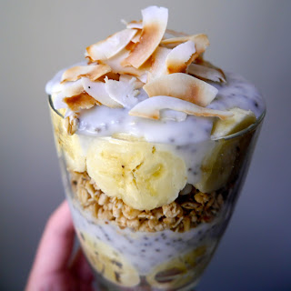 Vegan Banana Cream Pie Parfait