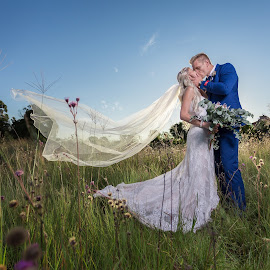 Sunset love by Lodewyk W Goosen (LWG Photo) - Wedding Bride & Groom ( wedding photography, wedding  photographer, weddings, wedding, bride and groom, bride, groom, bride groom )