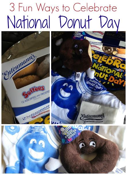 3 Fun Ways to Celebrate National Donut Day!