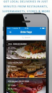 OrderTapp - screenshot