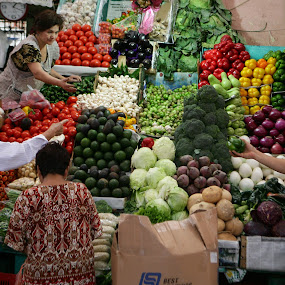 fruits and vegetables by Cristobal Garciaferro Rubio - City,  Street & Park  Markets & Shops ( fruits, vegetables, pwcmarkets )