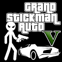 Grand Stickman Auto V pour PC (Windows / Mac)