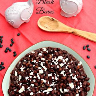 Authentic Black Beans Recipes