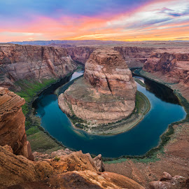 Colorado river, Horseshoe Bend by Thomas Gruenewald - Landscapes Caves & Formations
