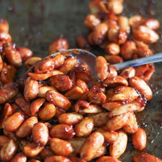Honey Chipotle Roasted Peanuts