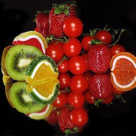 fruits,vegetables with candy by LADOCKi Elvira - Food & Drink Fruits & Vegetables ( candy, fruits )
