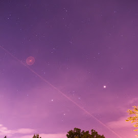 Jonesboro Astrophoto by Angela Hollowell - Novices Only Landscapes ( astro, long exposure, astrophotography, atlanta, astronomy )