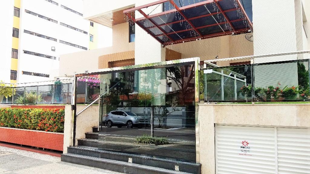 Apartamento residencial à venda, Tambaú, João Pessoa - AP5117.