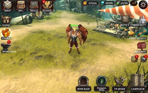 Darkness Reborn apk screenshot
