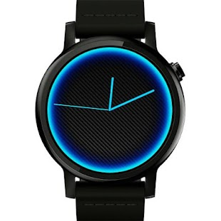 Carbon Neon Watch Face
