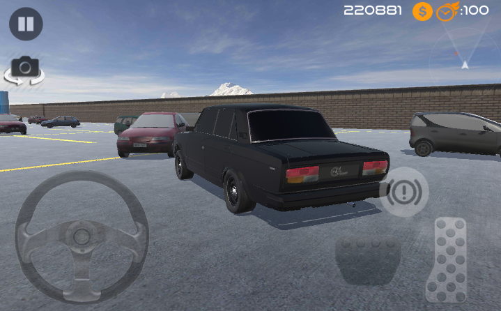 android Amazing Car - Parking Free Screenshot 4