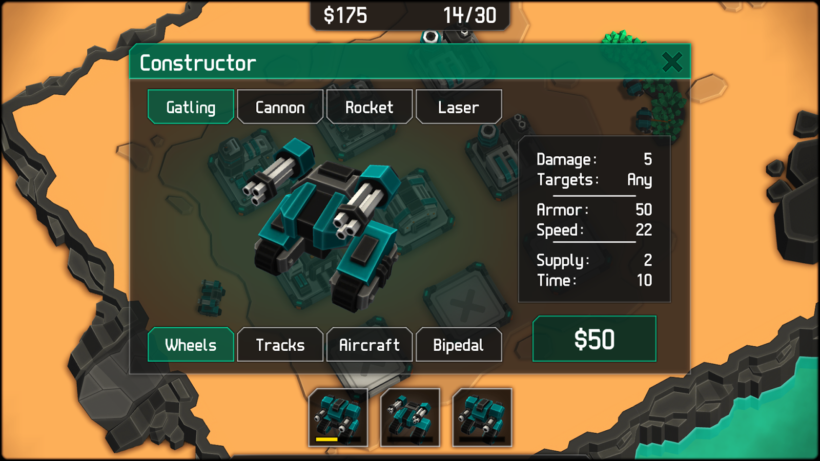 MechCom 2 - 3D RTS Screenshot 2