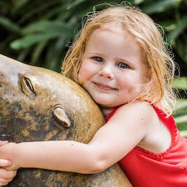 Smiler by Ken Nicol - Babies & Children Child Portraits