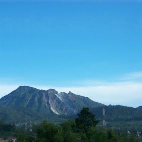 puncak 2 by Amelia Vanely - Landscapes Mountains & Hills