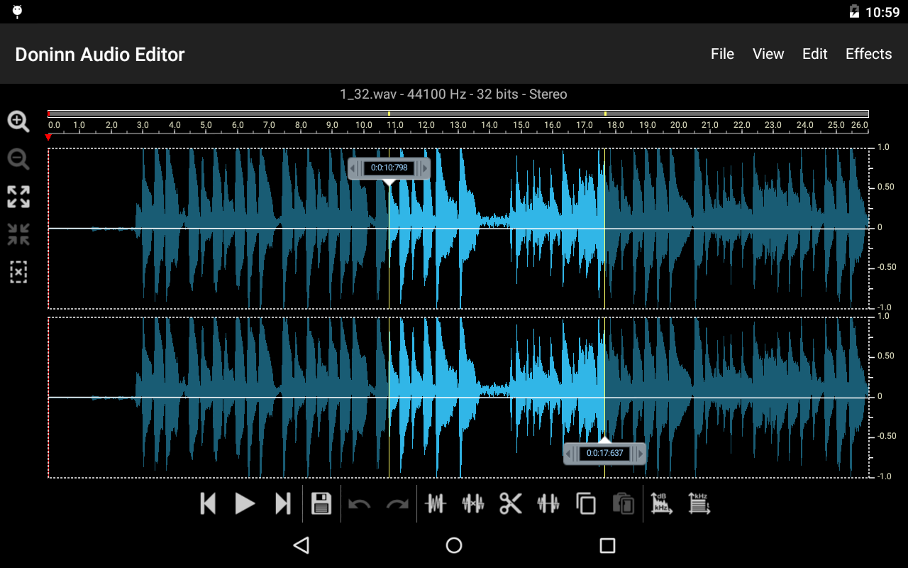 Doninn Audio Editor Screenshot 15