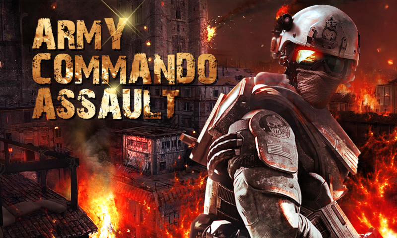 Army Commando Assault Screenshot