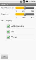Screenshot of Miller Analogies Test Prep