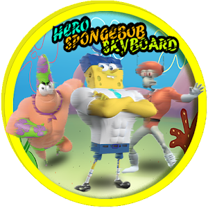 Download Hot Spongebob Hero Skyboard For PC Windows and Mac