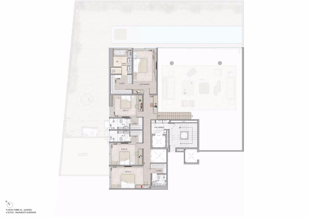 Duplex Garden Pav Superior  - 738 m²