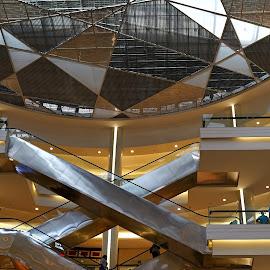 Mall Kota Kasablanka by Mulawardi Sutanto - Buildings & Architecture Other Interior ( cakep, indonesia, kota kasablanka, jakarta, travel, indah, mall )