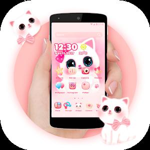 Cute Theme - Kawaii Kitty For PC