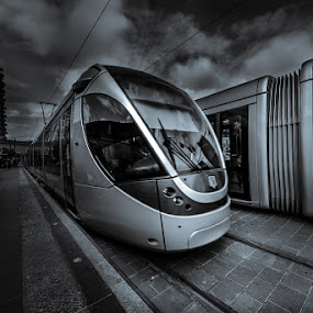 by Romel Pineda - Transportation Trains