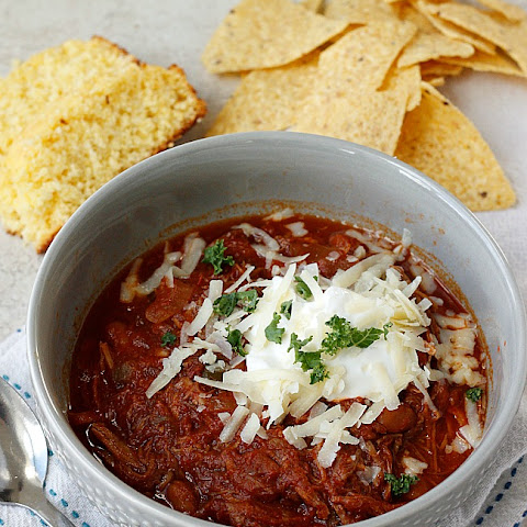 Smoky BBQ Pulled POrk Chili