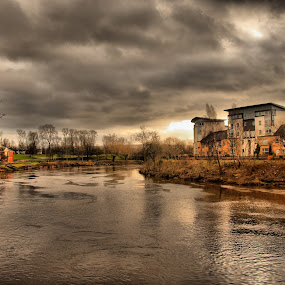 by Bariscan OZKALAY - Landscapes Waterscapes ( scotland, pwclandmarks, hdr, glasgow, landscape )
