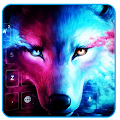 Free Ice Wolf Howl Feral 3D Theme APK for Windows 8