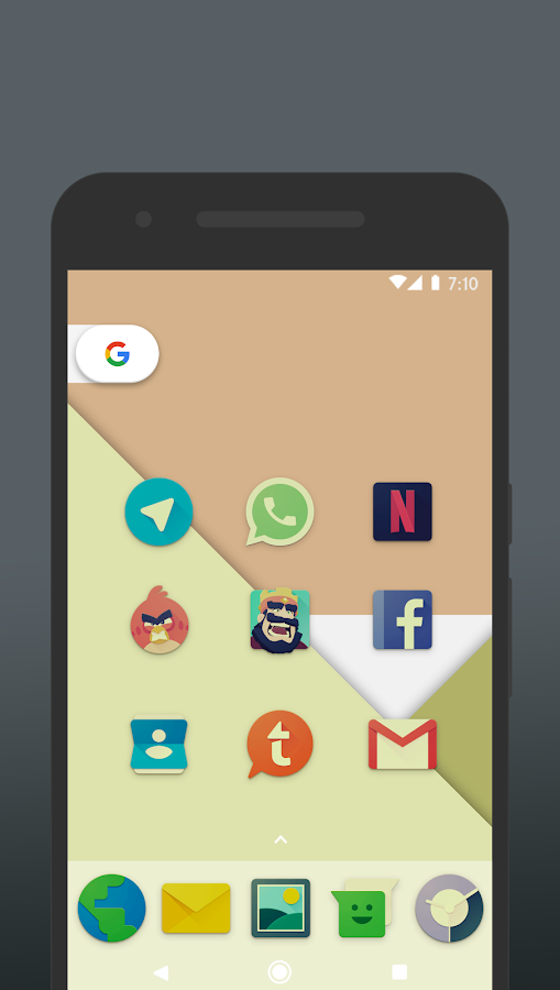 Nucleo Vintage - Icon Pack Screenshot 1