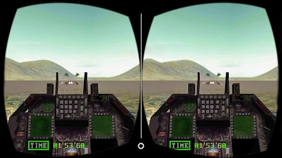VR Jet Fighter Dogfight Game - screenshot