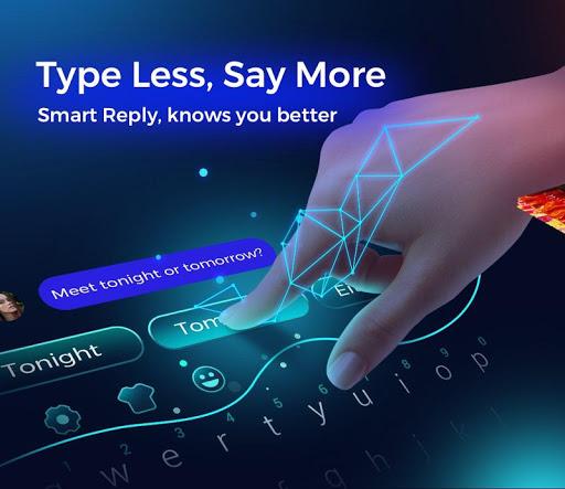 Cheetah Keyboard - Type less, say more! screenshot 1