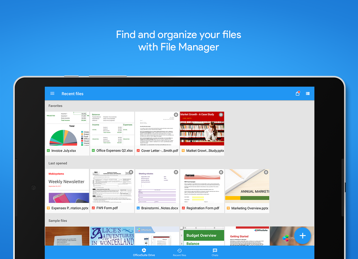 OfficeSuite : Free Office + PDF Editor & Converter Screenshot 12