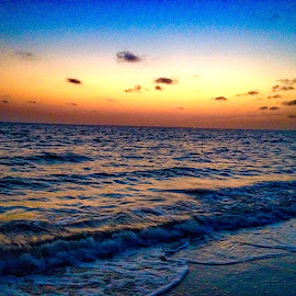 Beach Sunset by Joan Powers - Instagram & Mobile iPhone