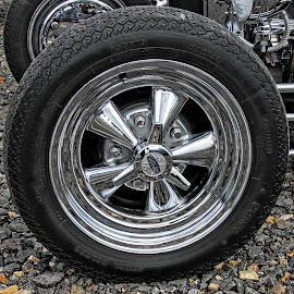 OW car wheel 01 by Michael Moore - Transportation Automobiles