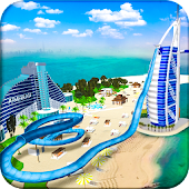 Game VR Beach Water Sliding APK for Windows Phone