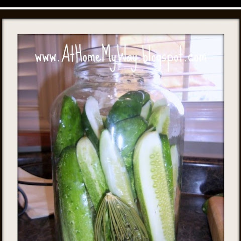 Best Dill Pickles EVER! (Just like Clausen) (Easy - no canning!)