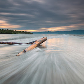 whispering waves by Rodrigo Layug - Landscapes Waterscapes ( nature, sunrise, seascape, landscape )