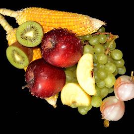 CORN TIME by SANGEETA MENA  - Food & Drink Fruits & Vegetables