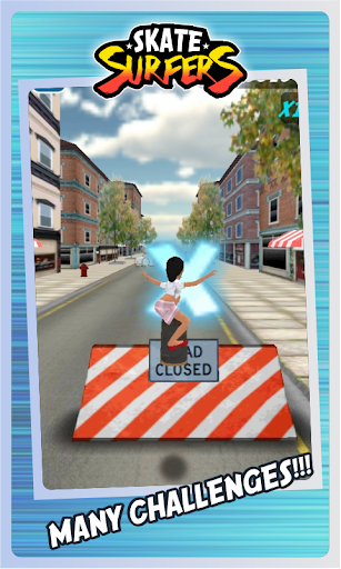 Skate Surfers Free screenshot 24