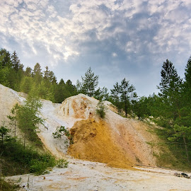 Kaolin Quarry 2 by Jiri Cetkovsky - Landscapes Travel ( rudice, kaolin, quarry, landscape, colors )