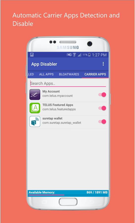 App Disabler (Samsung) android apps download