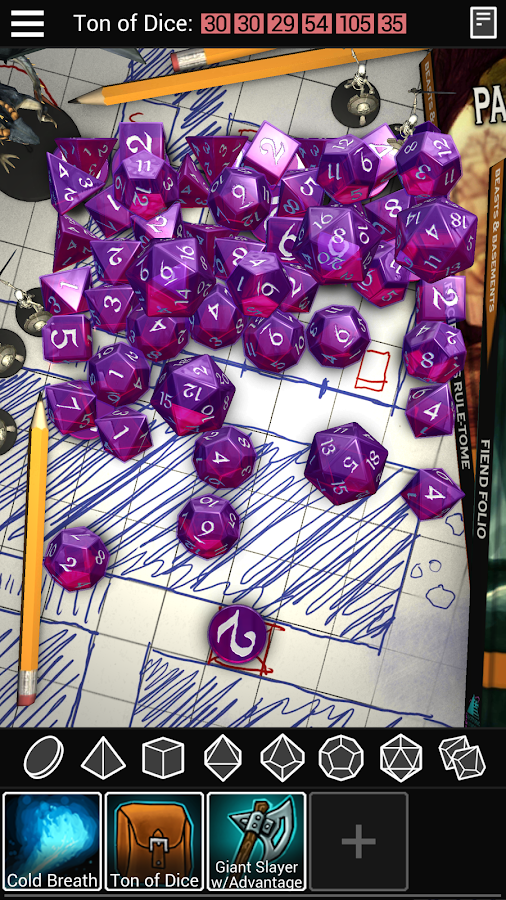Dice To Go: Tabletop RPG Roller Screenshot 0
