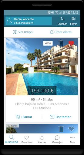 Fotocasa rent and sale screenshot 2