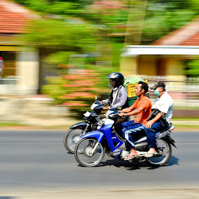 Racing by Ratian Wahyudi - Transportation Bicycles