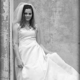 Weding101 by Wimpie Theron - Wedding Bride ( sexy, woman, wedding, white, bride )