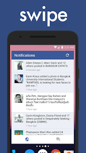 Swipe Widget for Facebook BETA Screenshot