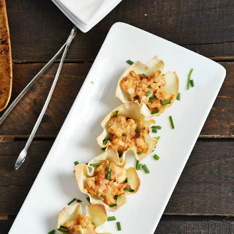 Barbecue Chicken Baked Wontons & Farm Rich Back Your Snack Contest