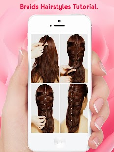 Hairstyle Steps For Girls - screenshot