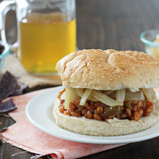 Chipotle Peach BBQ Farro Sandwiches